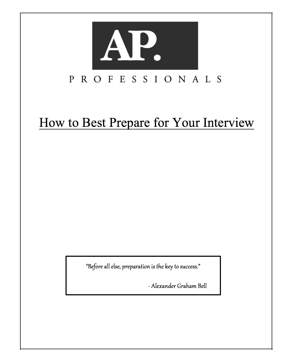 our guide to preparing for your interview ap professionals buffalo screen shot 2015 10 09 at 9 43 59 am