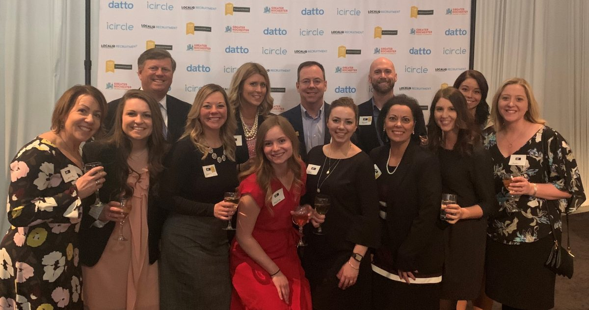 AP Rochester Team at Top Workplace Awards