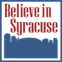 Believe in Syracuse logo