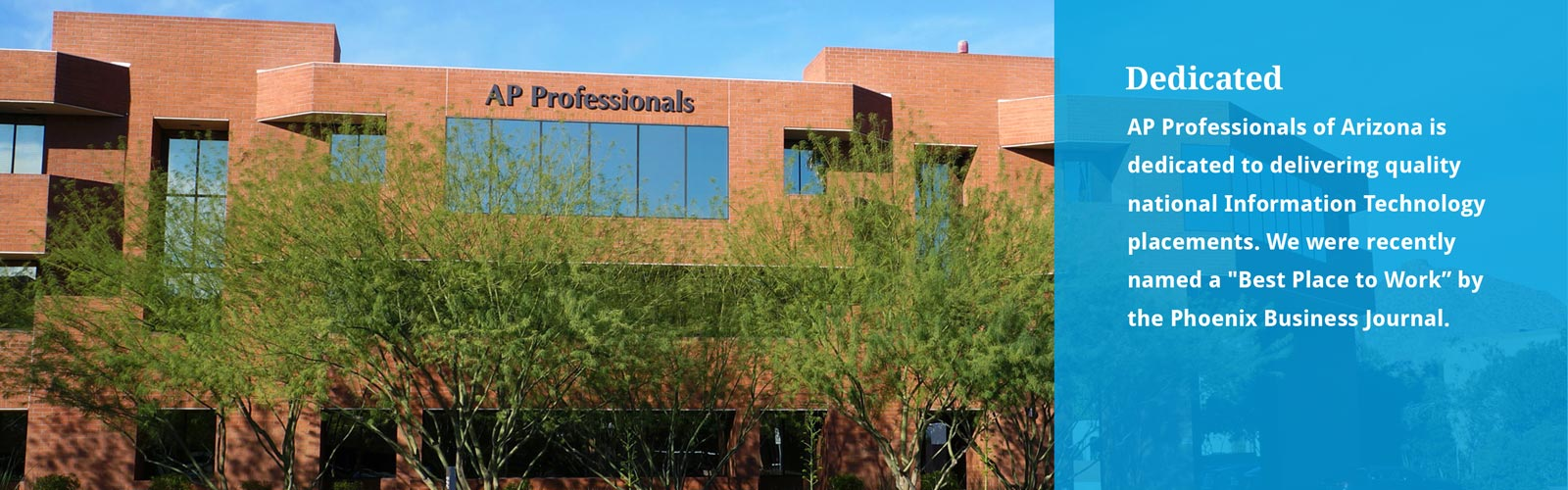 AP Professionals Arizona Office Entrance